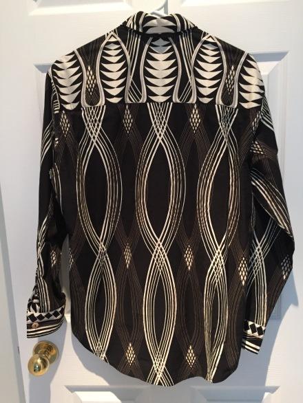 African Shirt Back