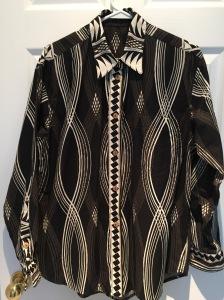 African Shirt Front