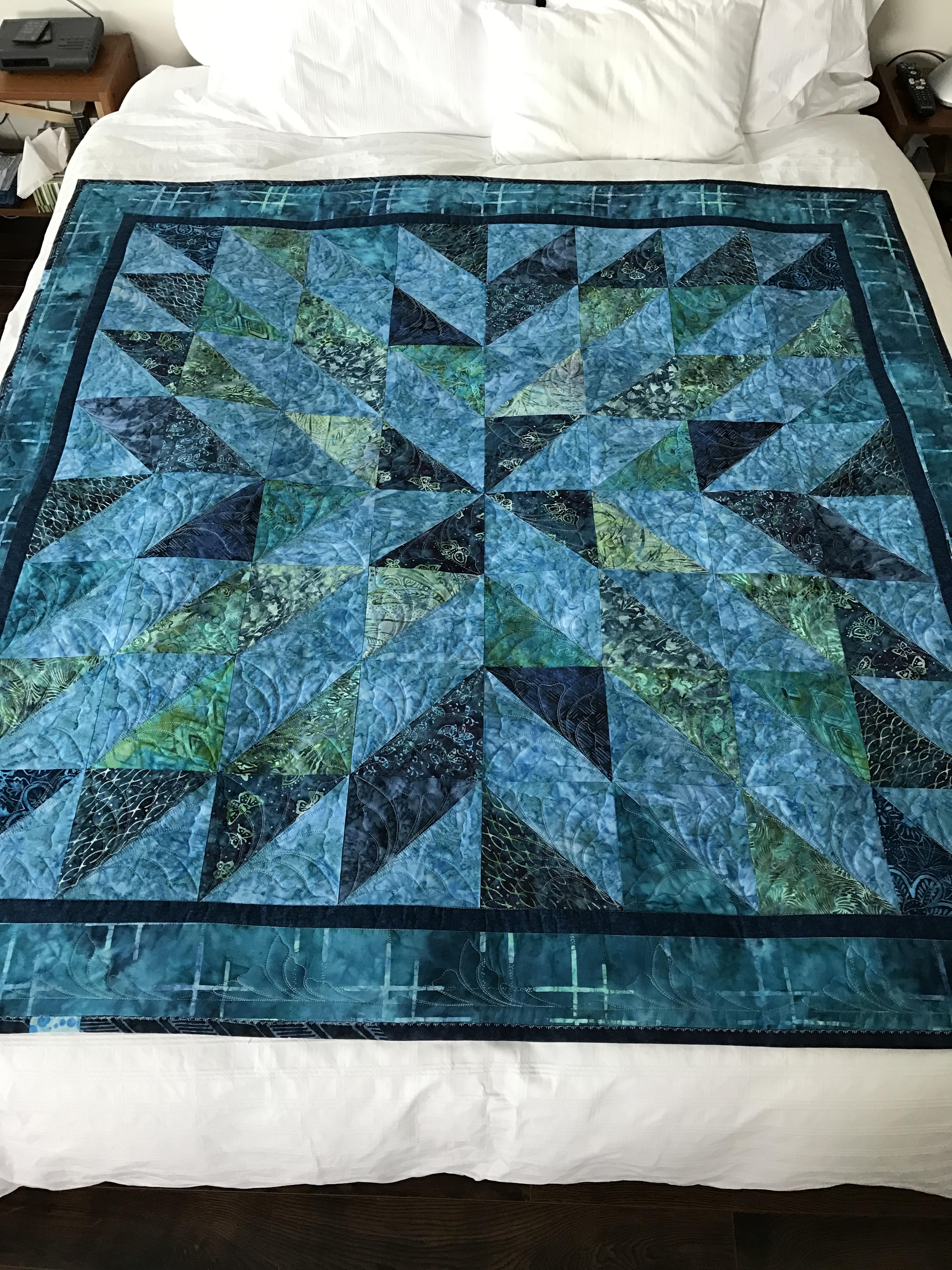 Starburst Quilt – Finished | jmn : starburst quilt - Adamdwight.com