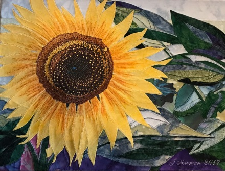 """Sunflower"" without frame"